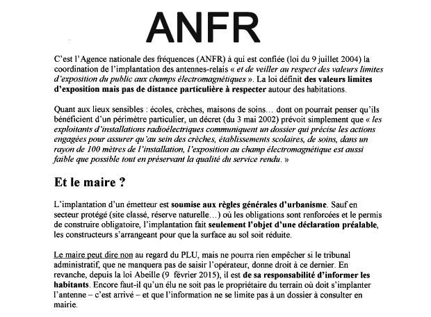 Projet antenne 15